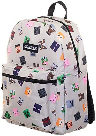 Minecraft 16 Characters All-Over Print Backpack