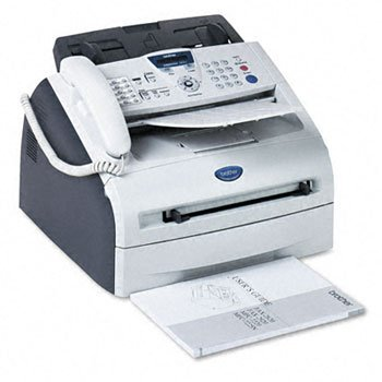 Brothr - Brother Intellifax 2820 Laser Fax W/Print, Copy And Telephone Fax,2820 Plain Paper 04554 (Pack Of2)