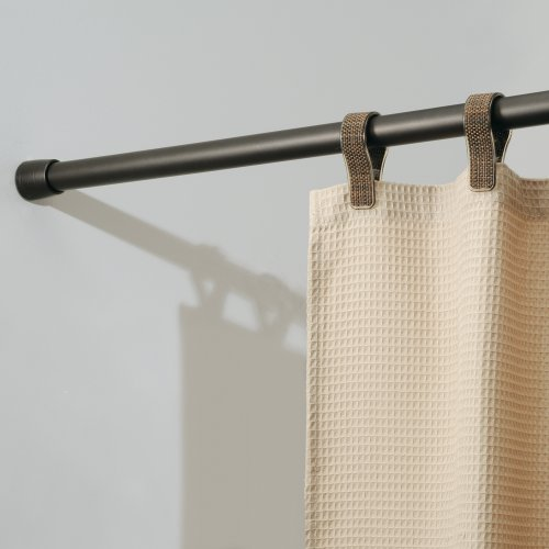 Kitchen Curtains Tension Rod: InterDesign Cameo Constant Tension Shower Curtain Rod