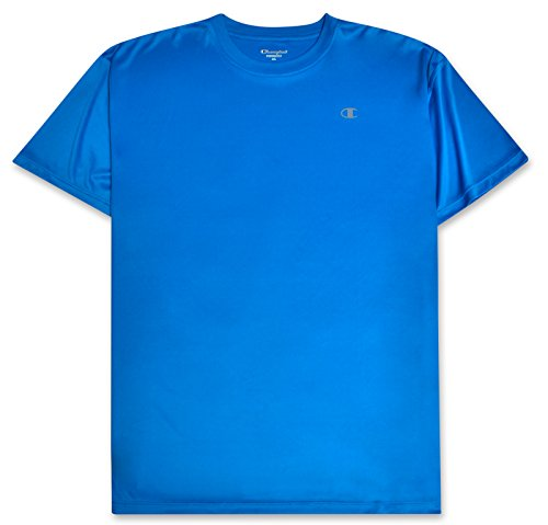 Champion Mens Big and Tall Active Performance T Shirt with Moisture Wicking Technology Teal XLT