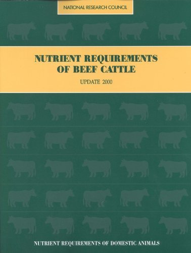 Download By Committee on Animal Nutrition - Nutrient Requirements of Beef Cattle:: Seventh Revised Edition: U (7 Pap/Dskt) (2000-05-31) [Paperback] pdf