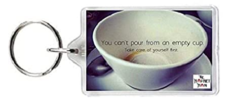 Bowl Cup Mug Coffee Tea Empty Pour Care Health Fit Key Ring Keyring