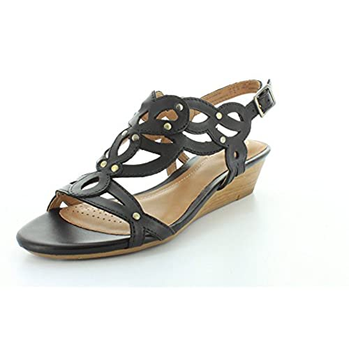 bbe5d01ae4e Clarks Women s Playful Tunes Low Wedge Sandal outlet - appleshack.com.au