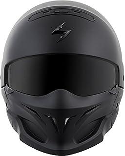 ScorpionExo Covert Unisex-Adult Half-Size-Style Matte Black Helmet (Matte Black
