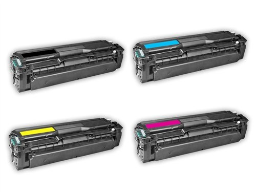 TonerBoss SAMCL504S4 Remanufactured Samsung 504 Toner Cartridges for CLP-415N, CLX-4195FN (Pack of 4)