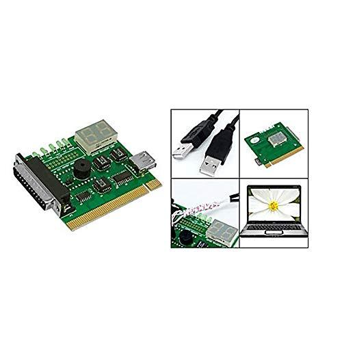 NicewaveComputer Motherboard PCI Test Machine and 2-Digit Computer Motherboard Test Machine Diagnostic Card Post Diagnosis External Display by Nicewave (Image #1)