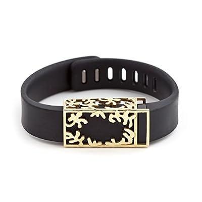 polished brass Matisse slide for Fitbit Flex