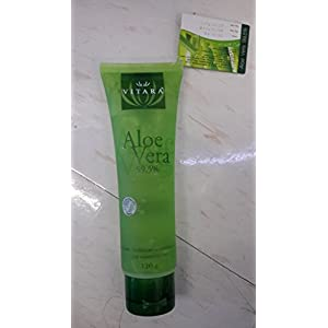 Aloe Vera 99.5% Gel Suitable for Delicate or Sensitive Skin Over Exposed to Sun 120 G.