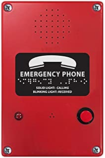 Red Viking Electronics VK-K-1500-EHFA Handsfree Elevator Phone