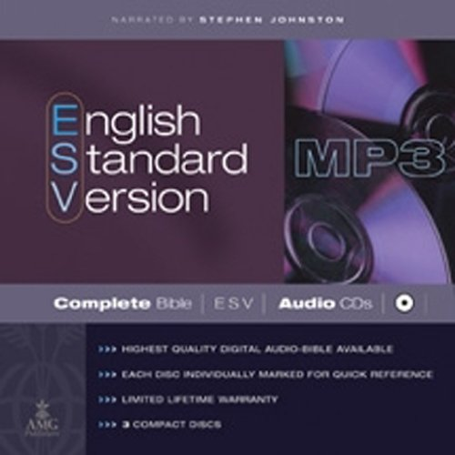 English Standard Version Complete Bible on MP3 CDs: ESV Edition
