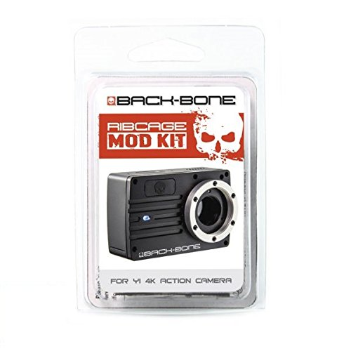 Back-Bone Ribcage YI 4K Mod Kit Sports & Action Video Camera