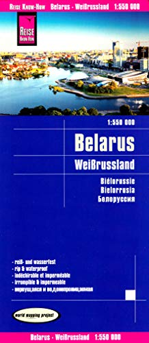 Belarus 1:550 000 Travel Map REISE