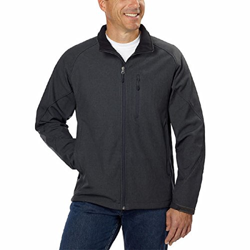 kirkland-signature-mens-water-resistant-4-way-stretch-softshell-jacket-medium-heather-asphalt