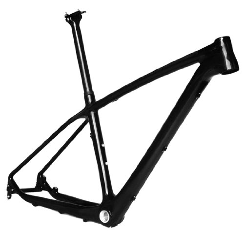 Full Carbon UD Glossy 27.5er Mountain Bike MTB 27.5'' Wheel BSA Frame Seatpost 19'' by x-goods