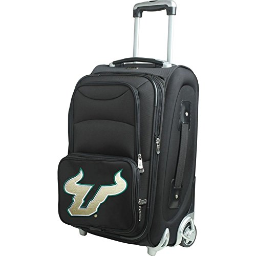 picture of NCAA South Florida Bulls In-Line Skate Wheel Carry-On Luggage, 21-Inch, Black