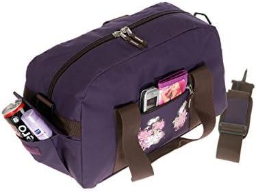 Elephant Sporttasche Select Tasche Schulsporttasche 47 cm Sport | Violetta Flower Lila Violett