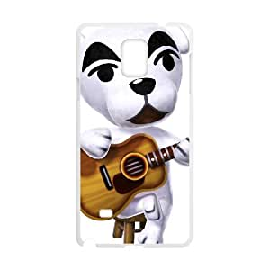 Samsung Galaxy Note 4 Cell Phone Case White_Animal Crossing New Leaf_019 Wsmyw