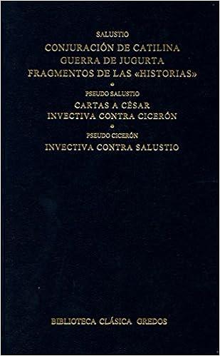 Conjuracion catilina guerra jugurta frag: 246 B. CLÁSICA ...