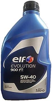 Oleo De Motor 5w40 Elf Evolution 900 Ft Api Sn A3/B4 1Lt