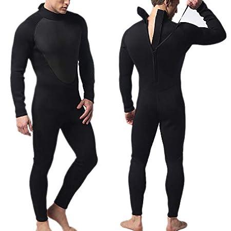 Combinaison de plong/ée plong/ée en apn/ée Extensible Surf Natation kangOnline Combinaison de plong/ée 3mm pour Hommes