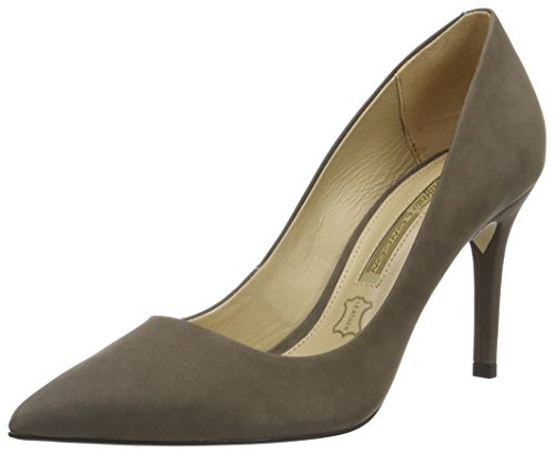 Zs 16 Pumps Buffalo 6557 Women's London Grey Grey342 Nobuck Aw5OxOR1nq