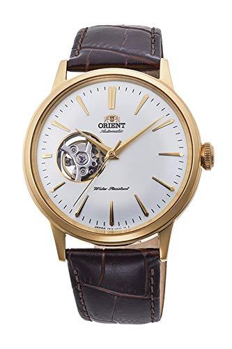 Reloj Orient automático Dorado para Hombre, con Ventana a Maquina, Ref. AG0003S10B.: Amazon.es: Relojes