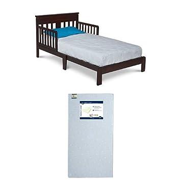 Delta Children Scottsdale Toddler Bed Black Cherry With Serta Perfect Start Crib And Mattress