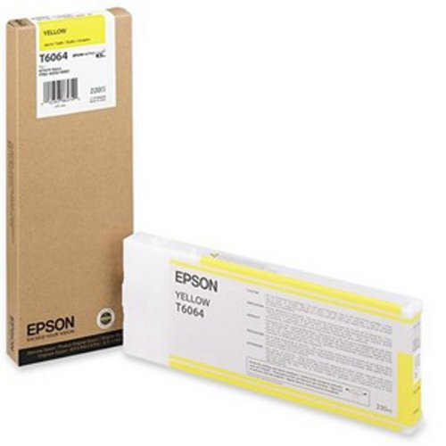 Epson - Yellow UltraChrome K3 Ink Cartridge 220ML for Stylus Pro 4800/4880 - 220 Ml Yellow Ink
