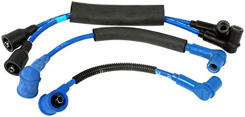 Pro Braking PBR4715-TBL-BLU Rear Braided Brake Line Transparent Blue Hose /& Stainless Blue Banjos