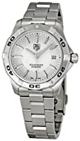 TAG Heuer Men's WAP1111.BA0831 Aquaracer Silver Dial Watch by TAG Heuer