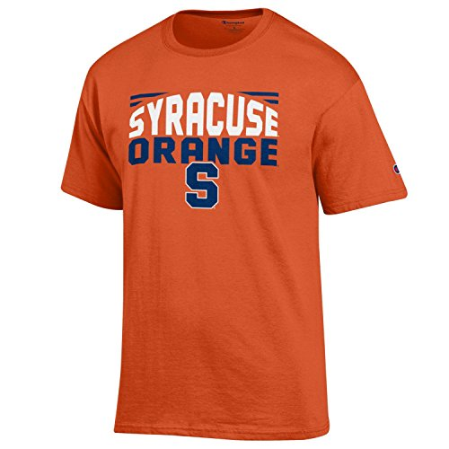 - NCAA Champion Men's Push Ahead Short sleeve T-Shirt Syracuse Orange XX-Large