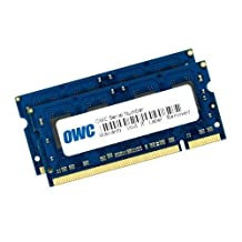 """OWC 6GB (2+4) PC2-5300 DDR2 667 SODIMM Memory kit for MacBook Late 2007, Early/Late 2008, Early 2009, MacBook Pro 15"""" & 17"""" Mid 2007, Early/Late 2008, and iMac Mid 2007 systems with Core 2 Duo Santa Rosa or Penryn processor. Model OWC5300DDR2S6GP"""