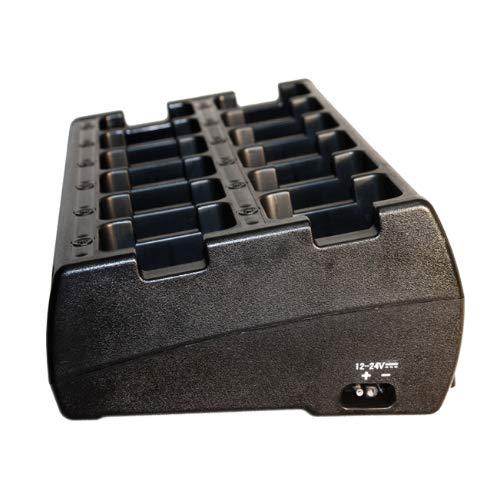 Klein 12-Gauge Multi-Unit Slot Rapid Desktop Bank Charger for Motorola TRBO XPR 3300 3500 6000 7000 APX1000 3000 4000 Two Way Radios by Klein Electronics (Image #1)