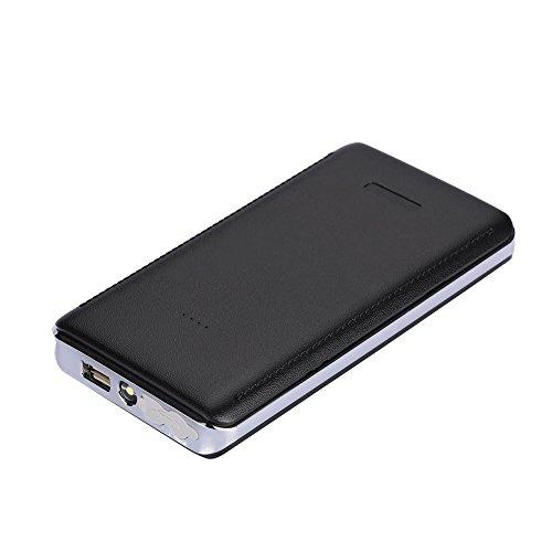 Hanbaili Power Kit Car Jump Starter Kit DIY Negro 5V 2A USB Fuente de alimentación multifunción Banco de energía