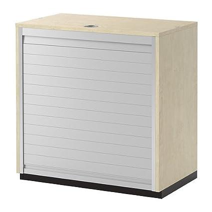 Amazon Com Ikea Roll Front Cabinet Birch Veneer 31 1 2x31 1 2