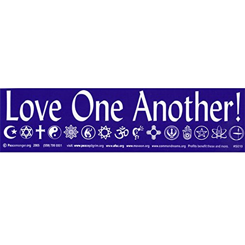Love One Another! Bumper Sticker