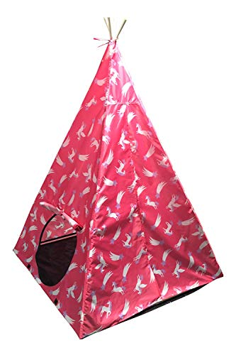 Mountain Warehouse Teepee Kids Unicorn Play Tent, For Children, Wigwam, Tipi Style, Great For Summer Fun In Garden…
