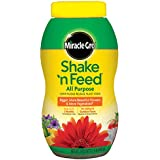Miracle-Gro Shake 'n Feed All Purpose Continuous Release Plant Food, 1.5-Pound (Slow Release Plant Fertilizer)