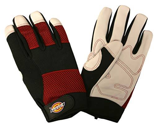 Dickies Leather Gloves - Dickies D77872 Ladies Hi-Performance Goatskin Gloves, Ladies Medium