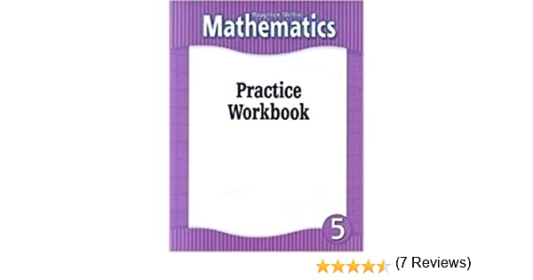 Houghton Mifflin Mathematics: Practice Workbook, Level 5: HOUGHTON ...