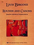img - for Louis Bergonzi Rounds and Canons (Shaping Musical Independence) by Louis Bergonzi (2003-01-01) book / textbook / text book