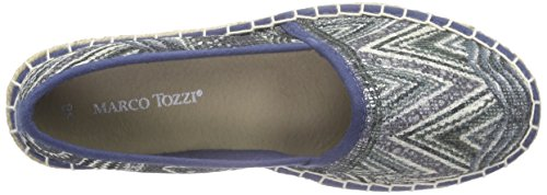 March Tozzi Kvinnor Ballerinas Da.-toffel Denim 2-2-24203-26 Kam / Kamma 853 Denim