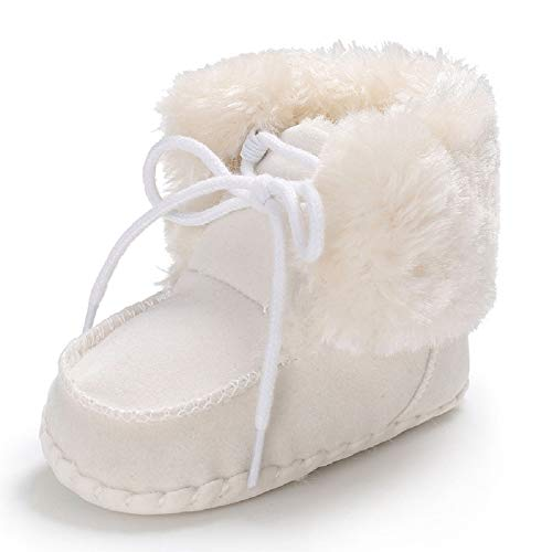 Pictures of Fnnetiana Newborn Baby Warm Winter Snow Boots 7