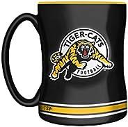 The Sports Vault CFL Hamilton Tigercats Sculpted Mug, 14-Ounce Team Color