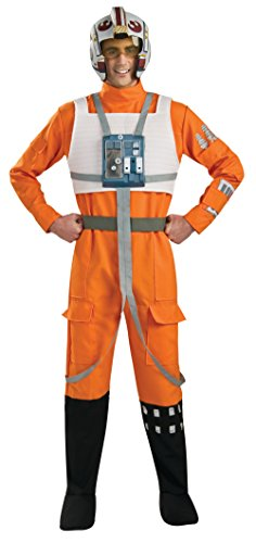 Kids X Wing Fighter Costume (Rubie's Star Wars A New Hope X-Wing Pilot, As Shown, X-Large)