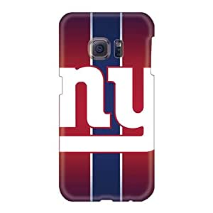 Samsung Galaxy S6 Cgn1273rIJY Unique Design High Resolution Ny Giants Pattern Shockproof Cell-phone Hard Cover -colormylife