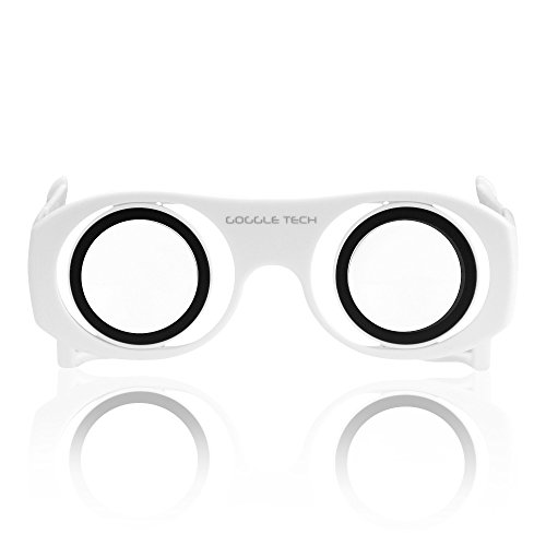 Virtual Reality Goggles Goggle Tech C1-Glass 3D Glasses for 3D Images & Videos on Android & iOS Smartphones - Glass C1