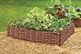 MGP Woven Willow Edging with Arc Top, 16'' H x 47'' L (6)