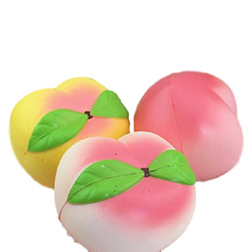 10CM Squishy Simulation Peach Slow Rising Squishy Fun Toys Decoration (Child Dolphin Costume Homemade)