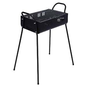 Olymp–Parrilla barbacoa de carbón Barbacoa Barbecue || 47x 32x 70cm || Incluye parrilla + Rejilla Paleta